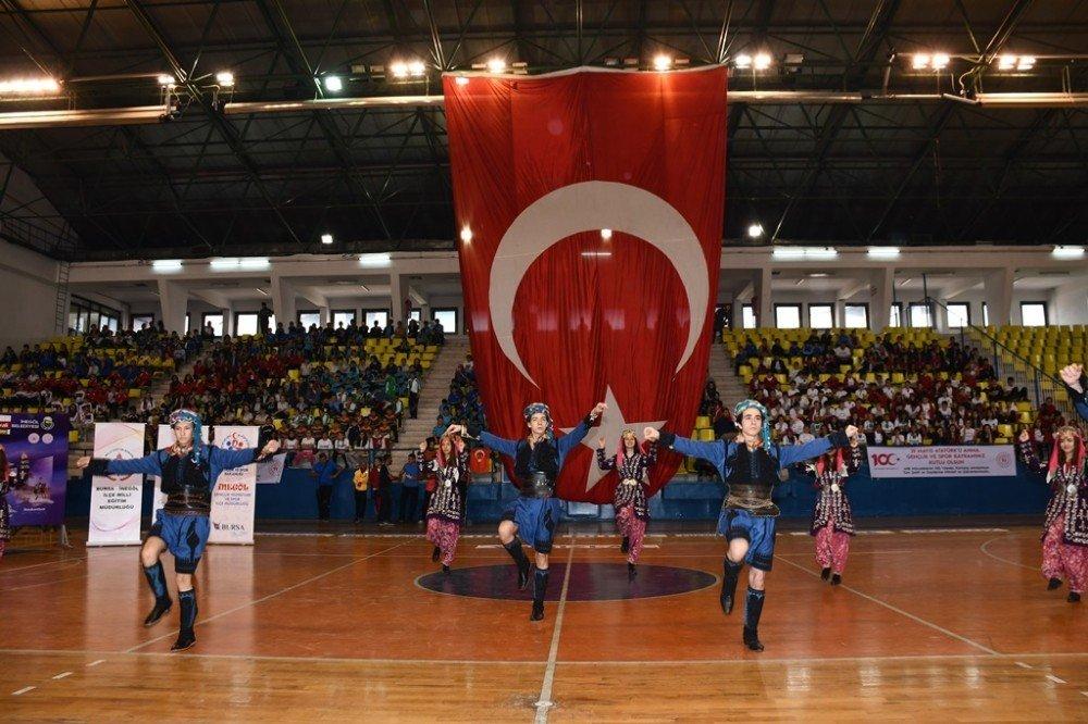 Okullar Arası Spor Festivalinde Ödüller Sahiplerini Buldu