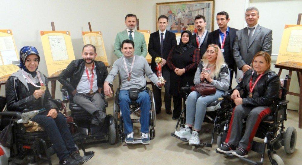 Kütahya'da Engelliler Haftası Kutlamaları