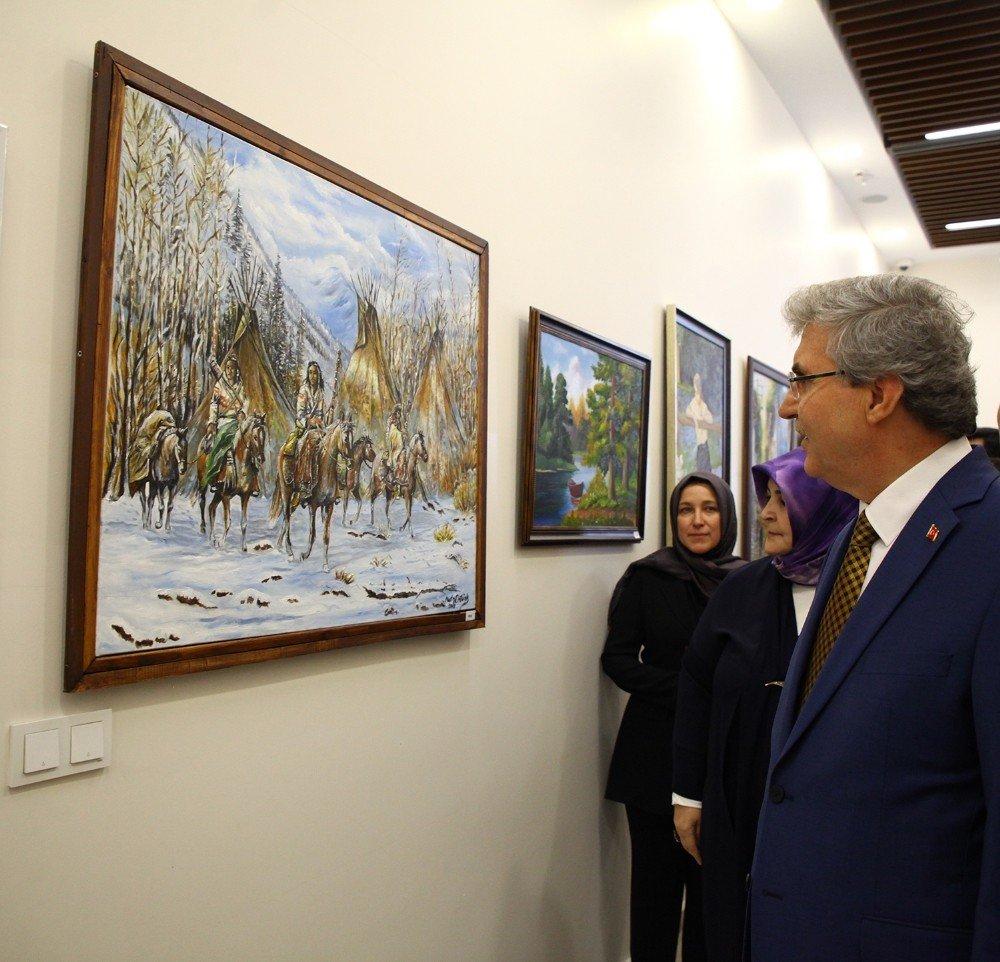 Başkan Yüce, Sapanca Samek Yılsonu Sergisinin Açılışına Katıldı
