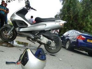 Hayatını kaybettiği kazayı videoya alan sürücü