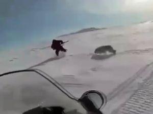 Kazakistan'da korkunç kurt avı