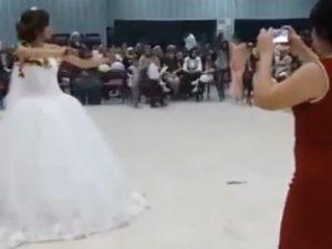 Düğününde Kendinden Geçen Gelin, İzlenme Rekoru Kırıyor