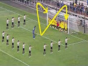 En Güzel Endirekt Serbest Vuruş Golleri ● Top 10 ● Tevez, Ronaldo, Roberto Carlos, Batistuta..