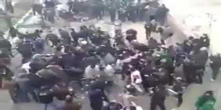 iran'da sokaklar karıştı!! halk asker ve polisle çatışıyor!!