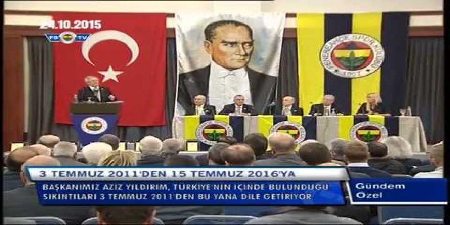 Fenerbahçe: Aziz yıldırım-Ne şikesi memleket elden gidiyor!