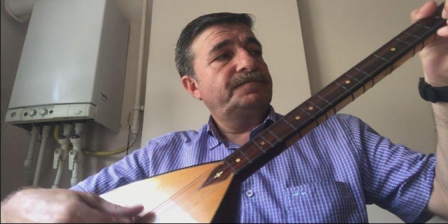 CHP Gebze İlçe Başkanı Recep Dursun'dan Bağlama Şov