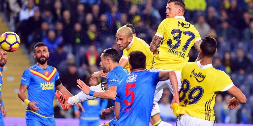 Fenerbahçe-Göztepe Maçtan Kareler