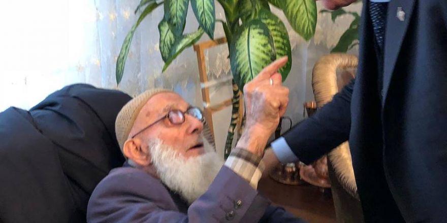 Erdoğan,Ahmet Penbegüllü'nün babasını ziyaret etti