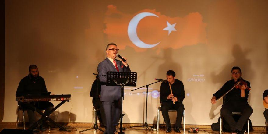 Afrin kahramanlarına ilk beste Gebze'den