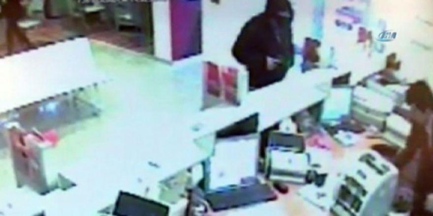 Güpe gündüz banka soygunu
