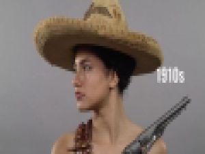 Meksika kadınının 100 yıllık değişimi