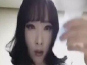 Koreli kızın makyajla inanılmaz değişimi