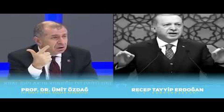 """Ümit Özdağ,senin """"Çömez Devlet"""" dediğin, Sayın Erdoğan !.."""
