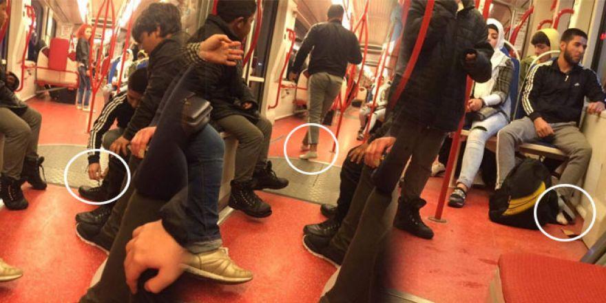 Tramvayda insanlık dersi