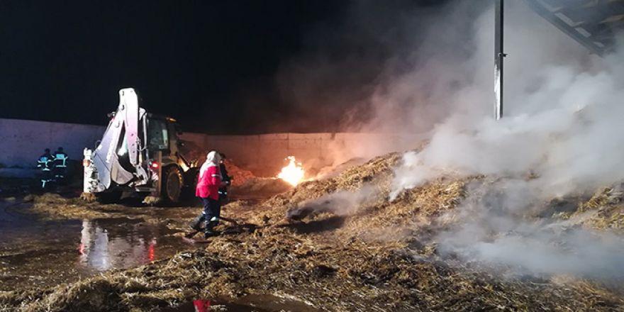 Gebze'de çiftlik yangını