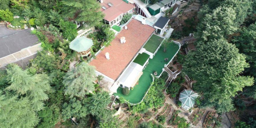 Adnan Oktar'ın villasının içi görüntülendi