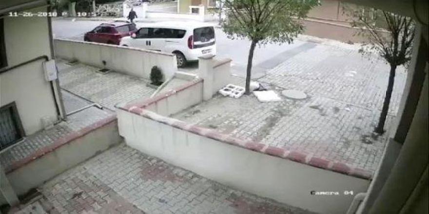 Helikopterin düşme anı