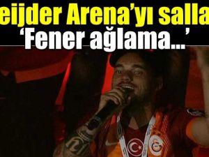 Sneijder'den Fenerbahçe'ye gönderme!
