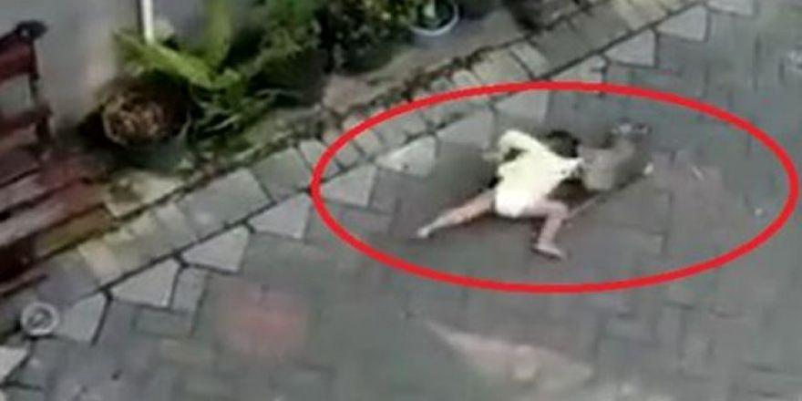 Bisikletli maymunun çocuk kaçırma girişimi şaşkınlık yarattı