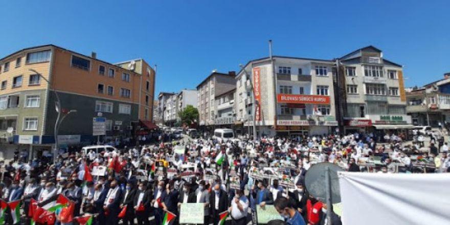 Dilovası Kudüs'ü Unutmadı  ''Kudüs Onurumuzdur''